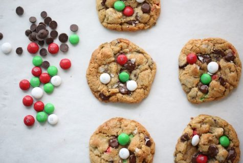 Try this delicious recipe for mint M&M cookies
