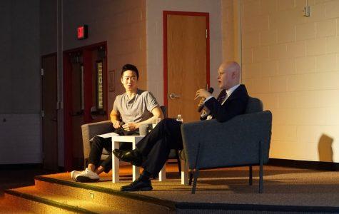 School Board celebrity Ryan McElveen visits Madison in first 'MADTalks' of year