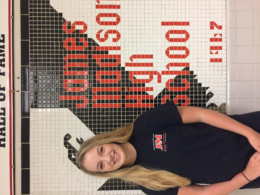 Cassidy Mckee ('19) pupil placed at Madison in order to take the AP curriculum.