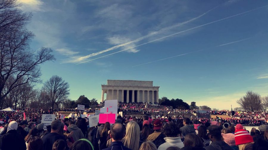 Madison Students raise voices at 2nd Womens March