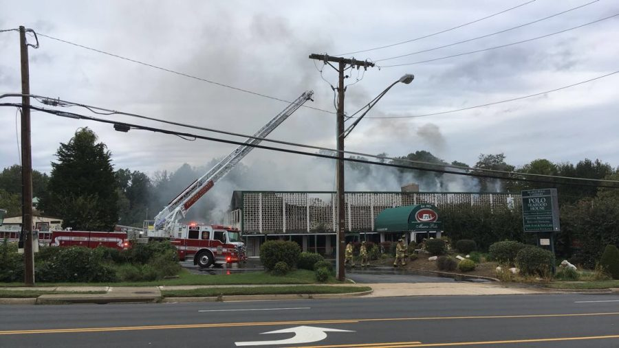 Breaking: Marco Polo Restaurant reportedly on fire