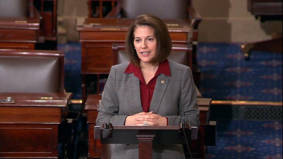U.S. Senator Catherine Cortez Masto of Nevada.