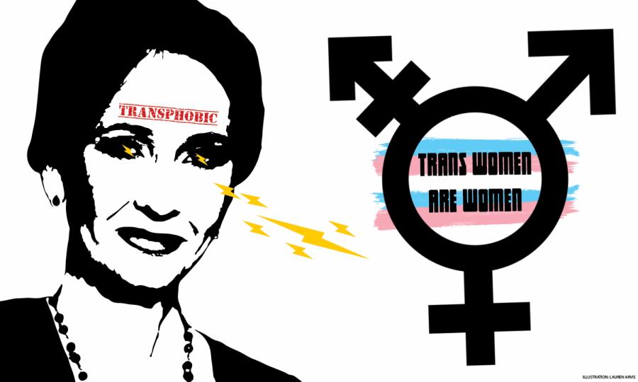 J.K. Rowling's Tumble into Transphobia