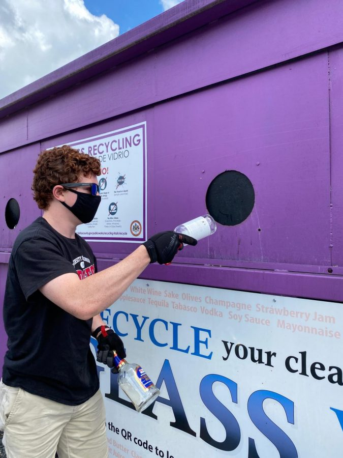 Grape Team Leads a Local Environmental Initiative