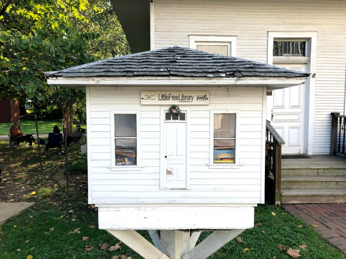 Little Libraries provide masks and hand sanitizer during pandemic