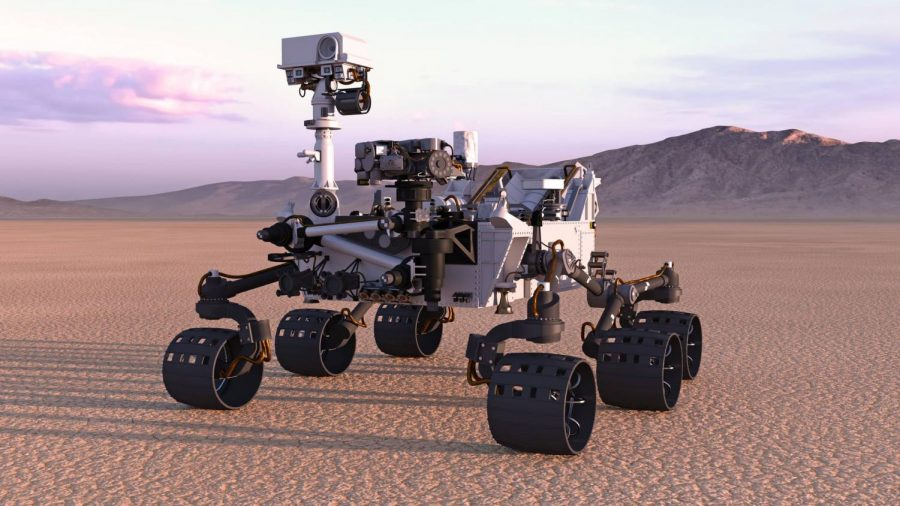 NASA makes history with the landing of their newest rover on Mars